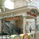 A few more coats to paint and Silly Symphony Swings will be good to go