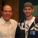 I was able to grab a quick photo with Imagineer Kevin Rafferty right after his talk, then we went and rode Toy Story Midway Mania