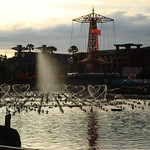 The dancing fountains will look great from any angle