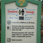 ...and tandem swings