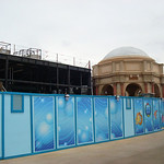 Little Mermaid dark ride construction continues