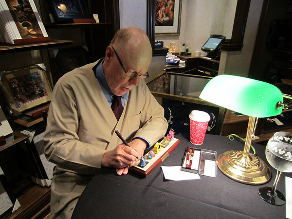 Robert Olszewski was present for Disneyland's birthday signing his latest release: Main Street Electrical Parade part 4 of 5.