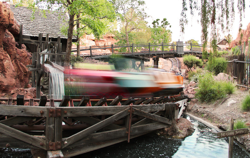'Wildest Ride in the Wilderness' near dusk.