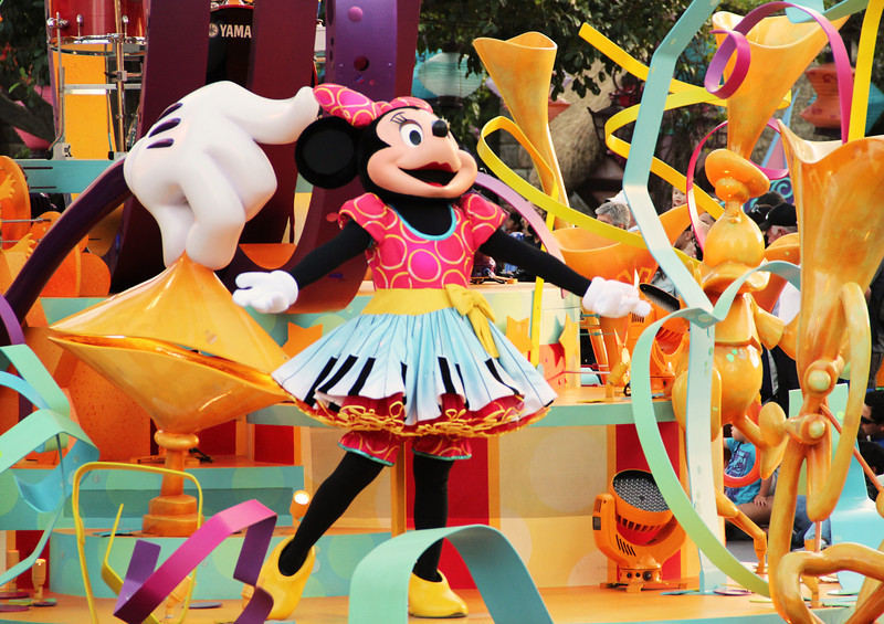 One of the best Disneyland parades ever, Soundsational is scheduled to continue throughout this spring and summer.
