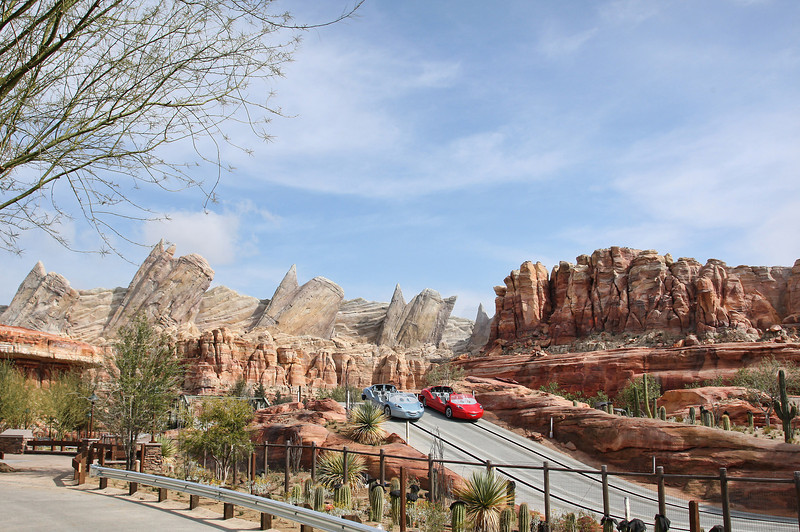 RADIATOR SPRINGS RACERS -- Coming to Disney California Adventure park June 15, 2012, Cars Land features three immersive family attractions showcasing characters and settings from the Disney-Pixar film, 