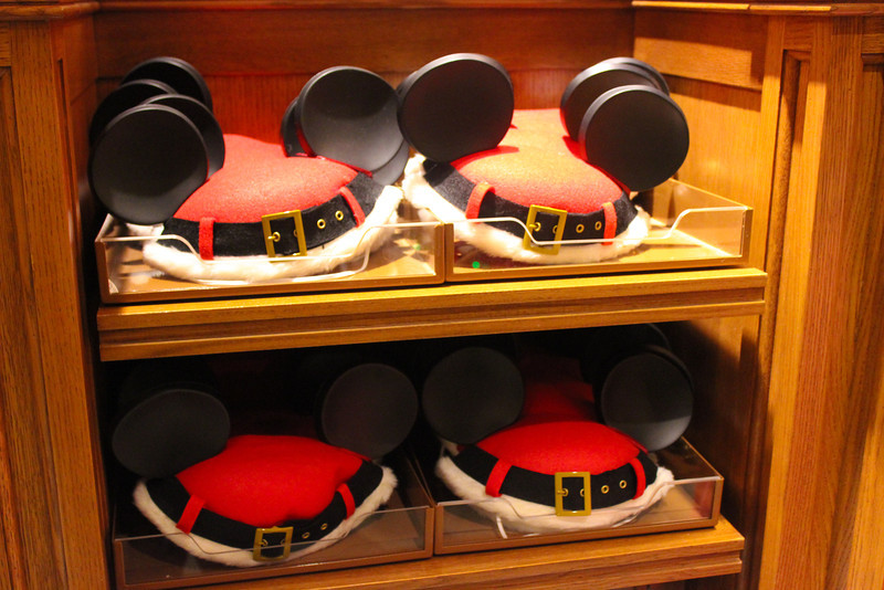 Santa Mickey Hats.