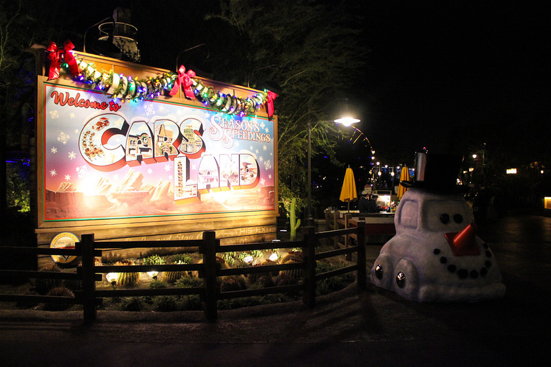 Carsland is enjoying it's first Christmas!