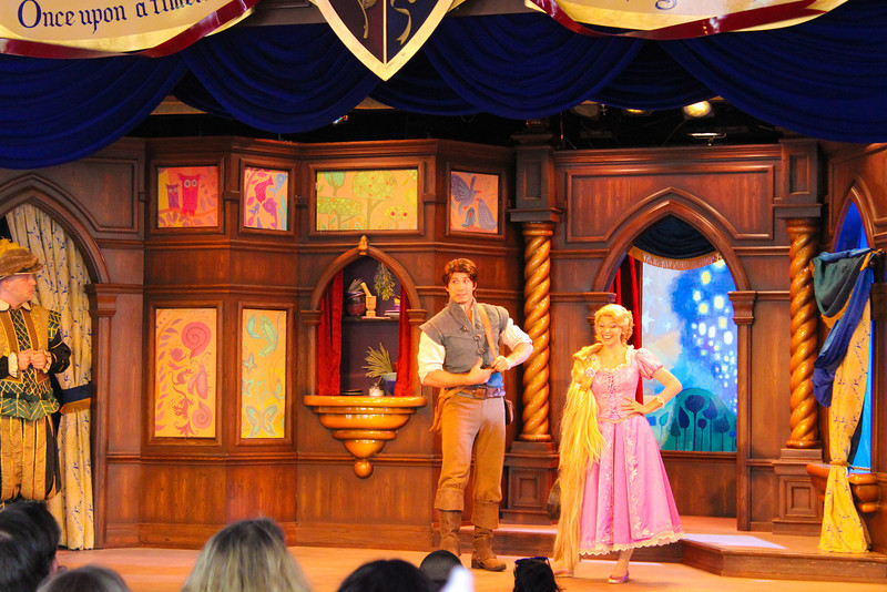 Flynn and Repunzel were spot on in appearance and acting!