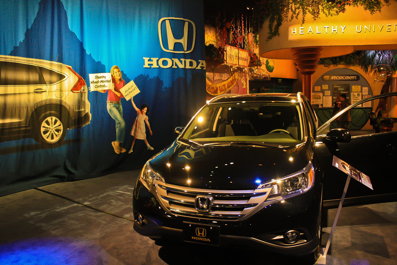New Honda CRV in Innoventions.