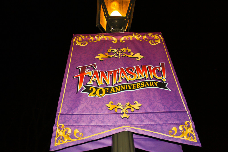 These banners were scattered around New Orleans Square.