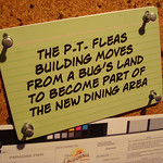 The current PT Flea will become a entrance for Cars Land