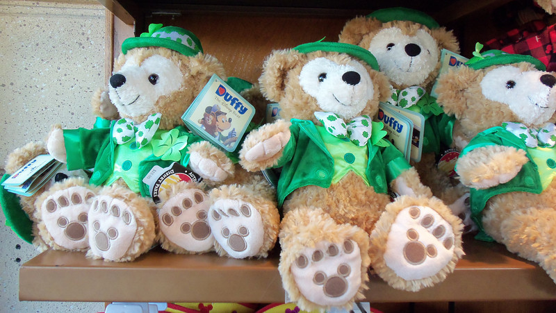New Duffy bears for St. Patrick's Day