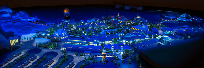 LAKE BUENA VISTA, Fla., March 12, 2013 – Downtown Disney is undergoing a multi-year transformation, representing the largest expansion in its history. The renamed Disney Springs (as shown in this conceptual model) will double the number of shopping, dining and entertainment experiences, and feature an eclectic and contemporary mix from Disney and other noteworthy brands.