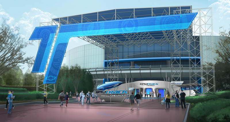 "Opening Dec. 6, 2012, Test Track by Chevrolet will feature an all-new ride experience, including an interactive pre-show area – completely retooled and re-imagined. The sleek new ""Chevrolet Design Center"" invites guests to create their own virtual custom-concept vehicle. Car design wannabes will get to shape their own virtual car, truck or crossover vehicle and learn how their design choices perform in changing terrain and extreme conditions against four attributes: capability, efficiency, responsiveness and power. Epcot is located at the Walt Disney World Resort in Lake Buena Vista, Fla."