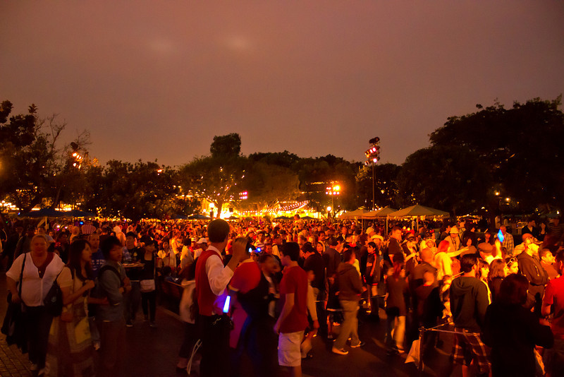 One of the busiest days of the year for Disneyland.