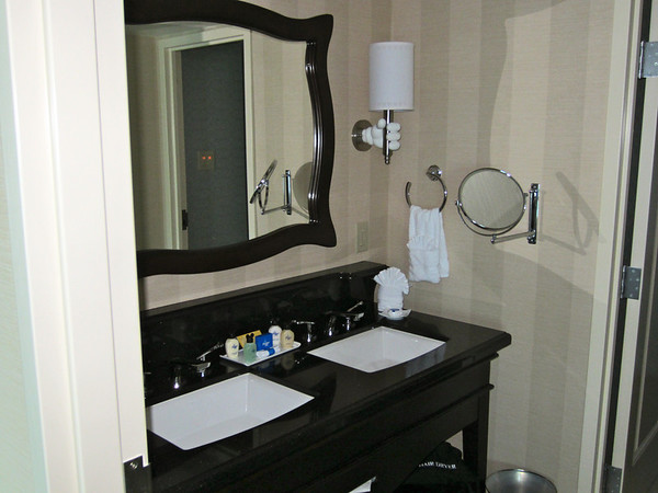 The second bathroom located adjacent to the bedroom.