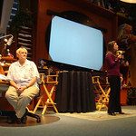 In the Animation Academy, Disneyland Editor Heather Hust Rivera of the Disney Parks Blog welcomed all the guests