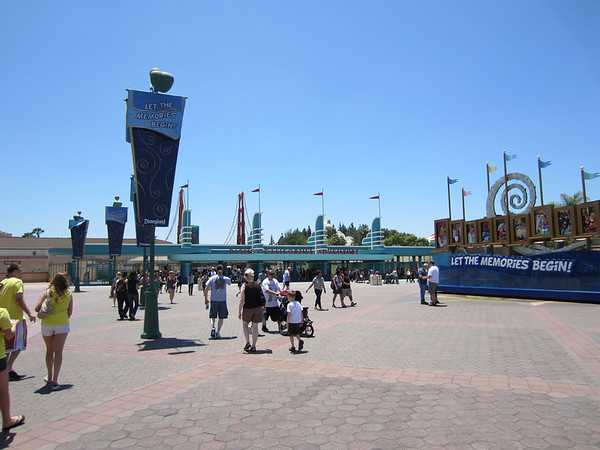 The new entrance to DCA.