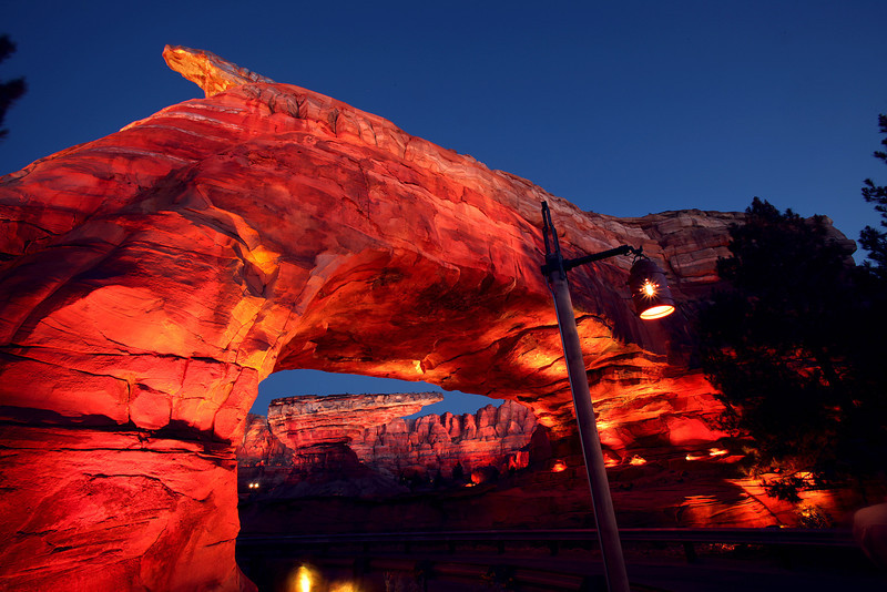 ORNAMENT VALLEY -- Coming to Disney California Adventure park June 15,  2012, Cars Land features three immersive family attractions showcasing characters and settings from the Disney-Pixar film,