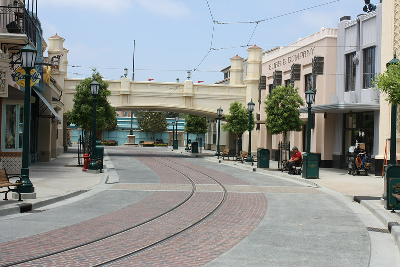 I must admit, Buena Vista Street was smaller than I thought.