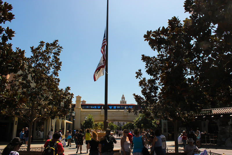 Half Staff for Ambassador Stevens.