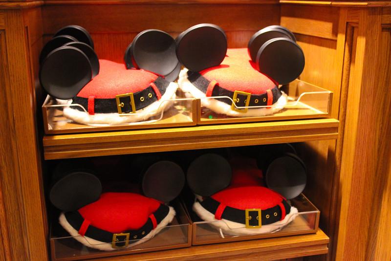 Santa Mickey Hats.