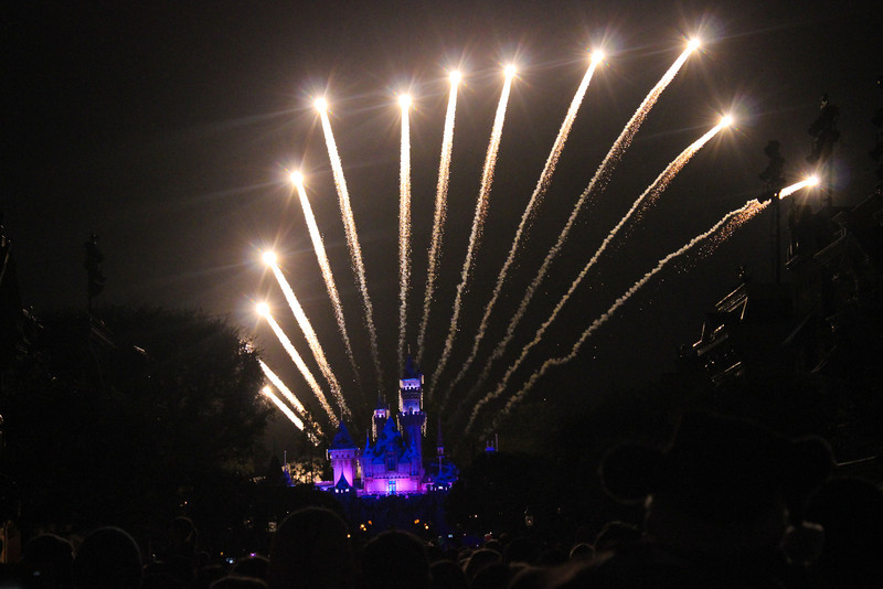 First showing of Believe...in Holiday Magic Fireworks.