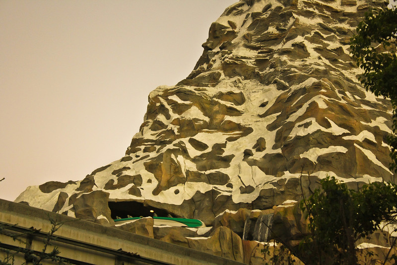 Can you spot the new Matterhorn Coaster cars?
