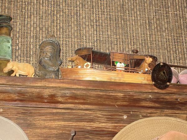 Nice little hidden gem inside the jungle boat ship.