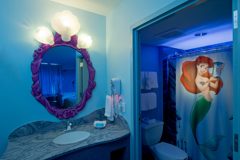 Guests at Disney's Art of Animation Resort are invited into Ariel's secret grotto   at