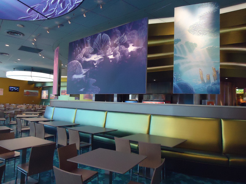 Finding Nemo food court section
