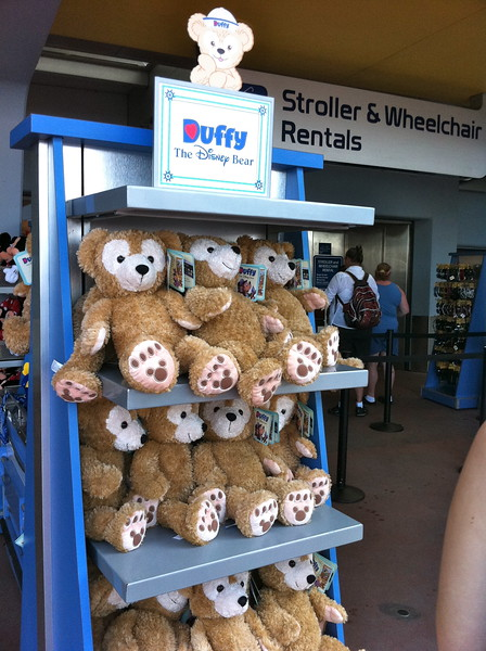 Duffy at Stroller Rentals