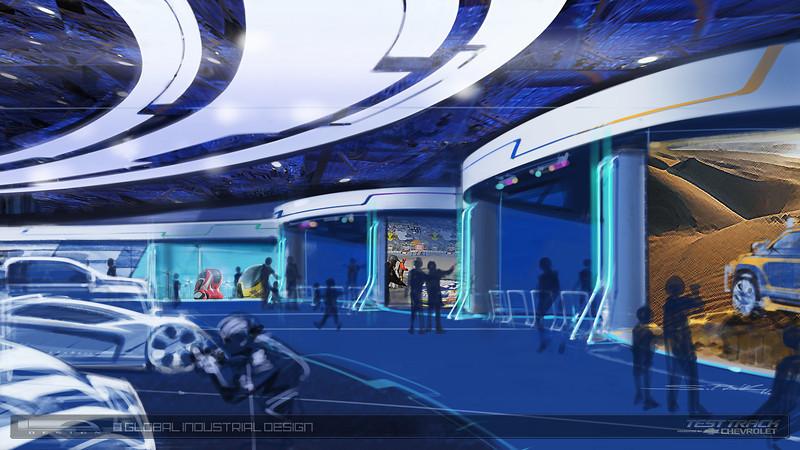 Chevrolet, Disney Inspire Design Innovation with Test Track